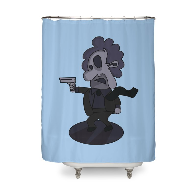 Agent Number 143 Home Shower Curtain by TenAnchors's Artist Shop