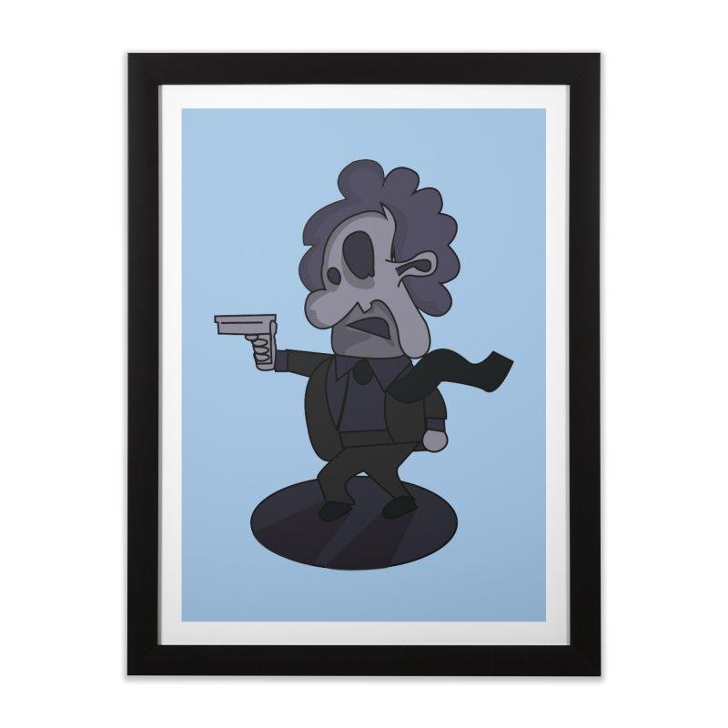 Agent Number 143 Home Framed Fine Art Print by TenAnchors's Artist Shop