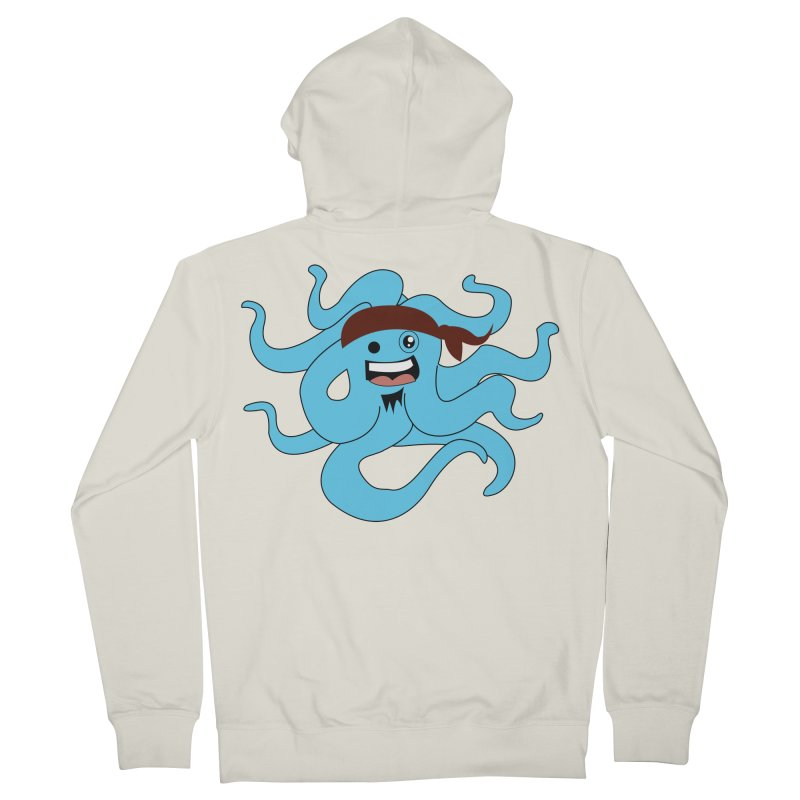 Octo....Pirate Men's Zip-Up Hoody by TenAnchors's Artist Shop