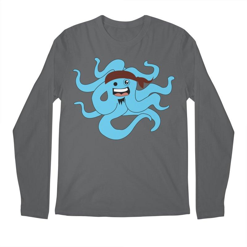 Octo....Pirate Men's Longsleeve T-Shirt by TenAnchors's Artist Shop