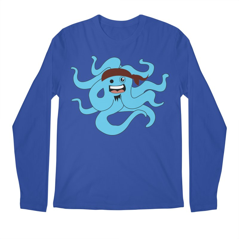 Octo....Pirate Men's Longsleeve T-Shirt by TenAnchors's Artist Shop