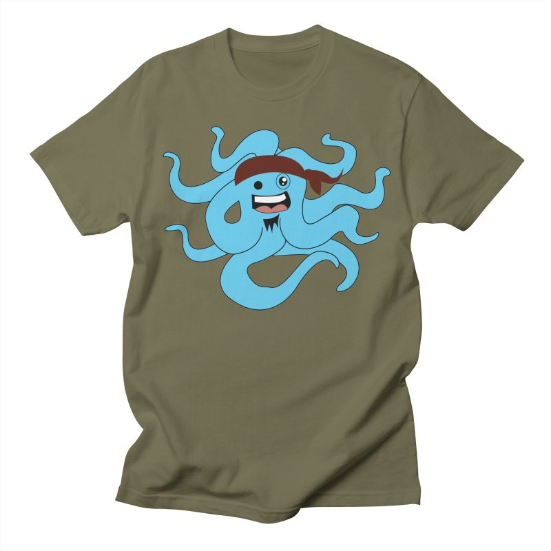 Octo....Pirate Men's T-Shirt by TenAnchors's Artist Shop