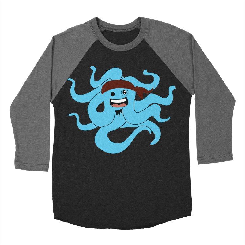 Octo....Pirate Women's Baseball Triblend T-Shirt by TenAnchors's Artist Shop