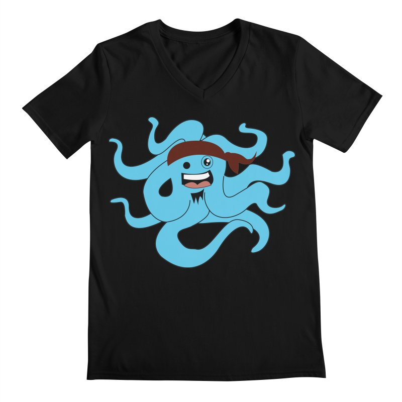 Octo....Pirate Men's V-Neck by TenAnchors's Artist Shop