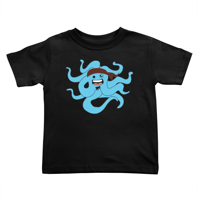 Octo....Pirate Kids Toddler T-Shirt by TenAnchors's Artist Shop