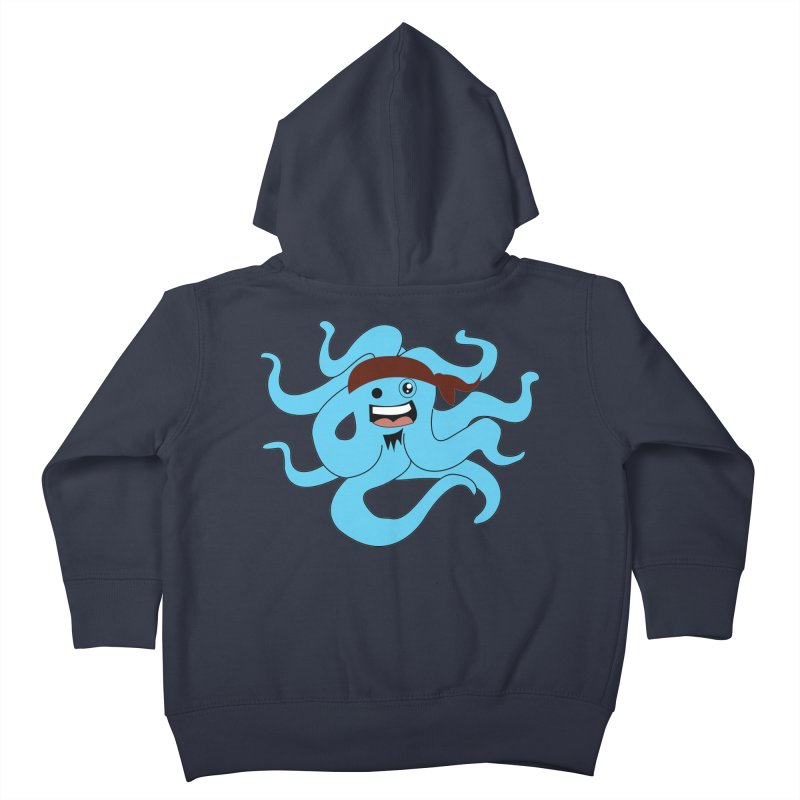 Octo....Pirate Kids Toddler Zip-Up Hoody by TenAnchors's Artist Shop