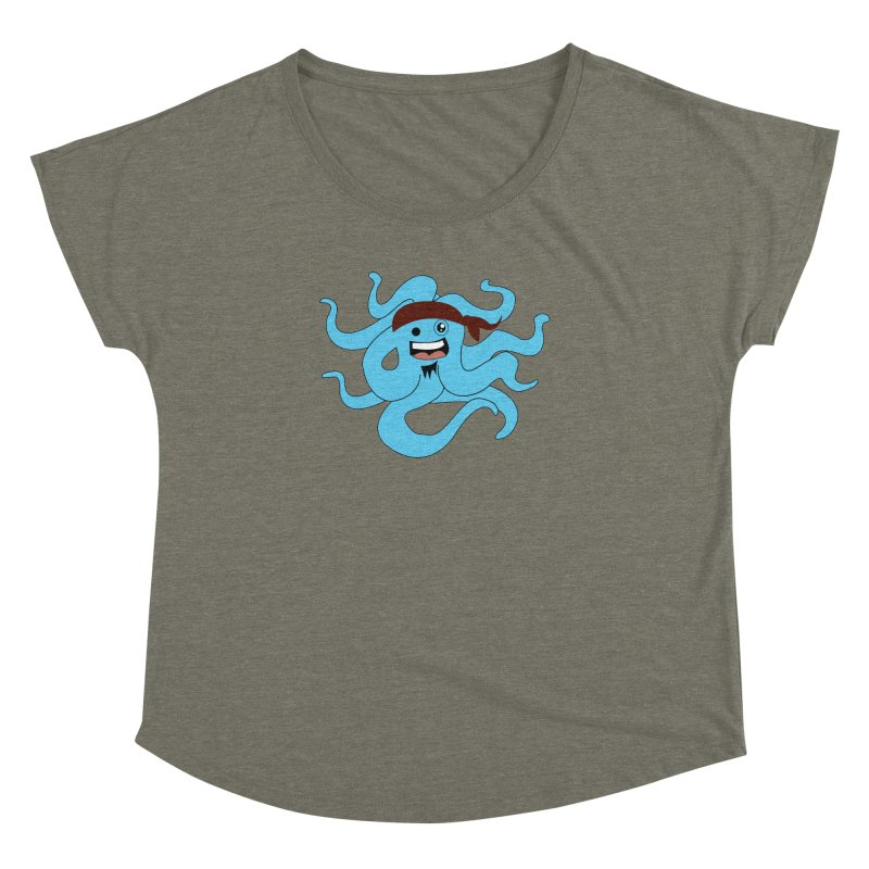 Octo....Pirate Women's Dolman by TenAnchors's Artist Shop