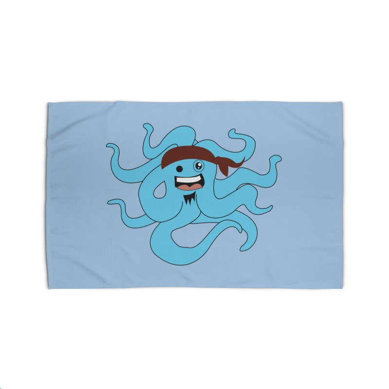 Octo....Pirate Home Rug by TenAnchors's Artist Shop