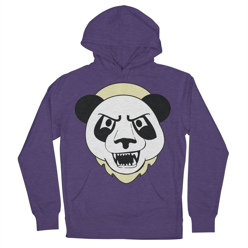Panda Fury Men's Pullover Hoody by TenAnchors's Artist Shop