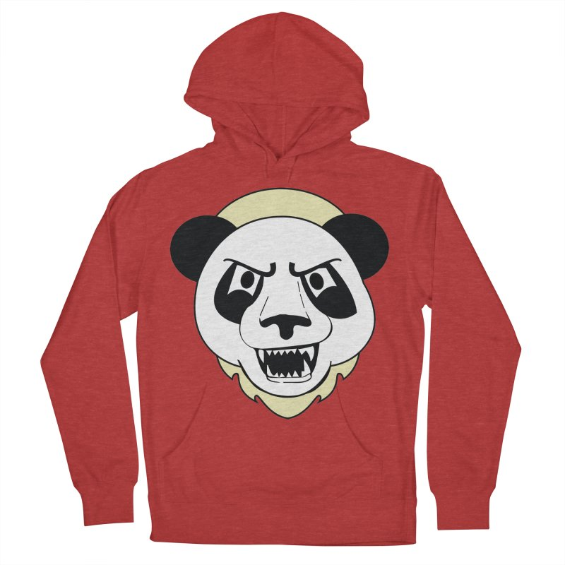 Panda Fury Men's Pullover Hoody by TenAnchors's Artist Shop
