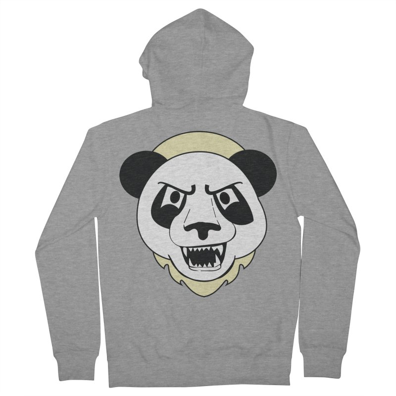 Panda Fury Women's Zip-Up Hoody by TenAnchors's Artist Shop