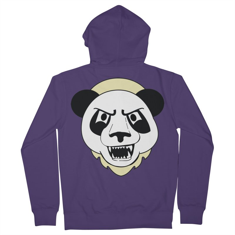 Panda Fury Women's Zip-Up Hoody by TenAnchors's Artist Shop