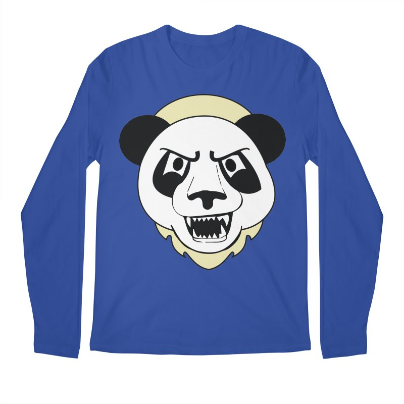 Panda Fury Men's Longsleeve T-Shirt by TenAnchors's Artist Shop