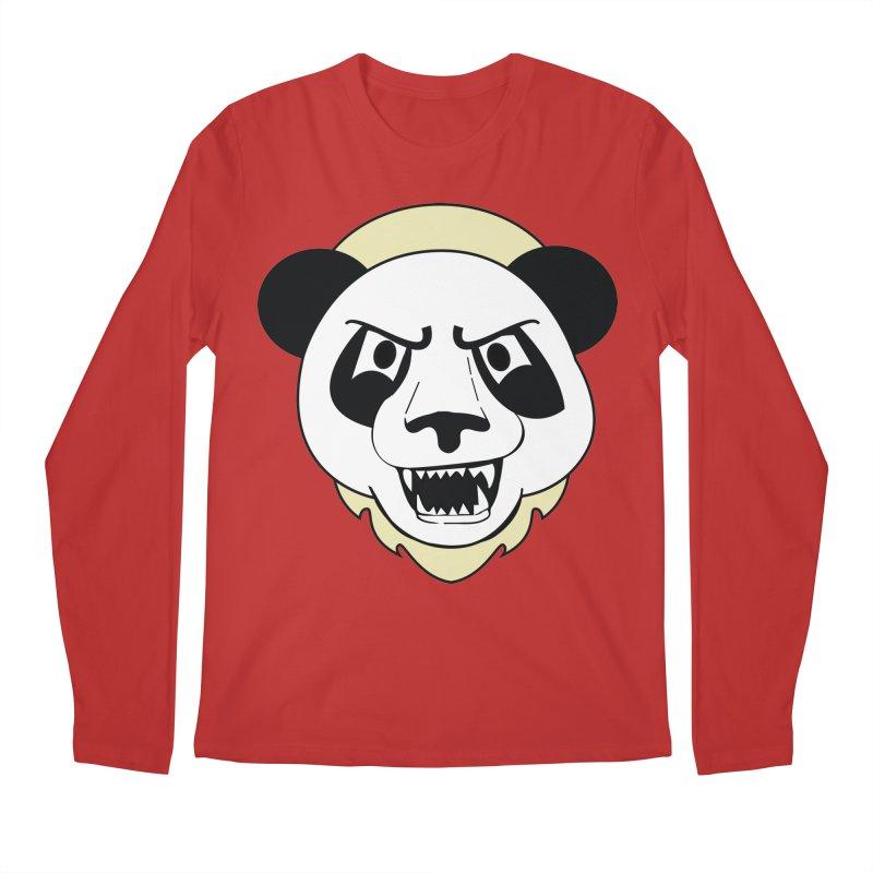 Panda Fury Men's Longsleeve T-Shirt by TenAnchors's Artist Shop