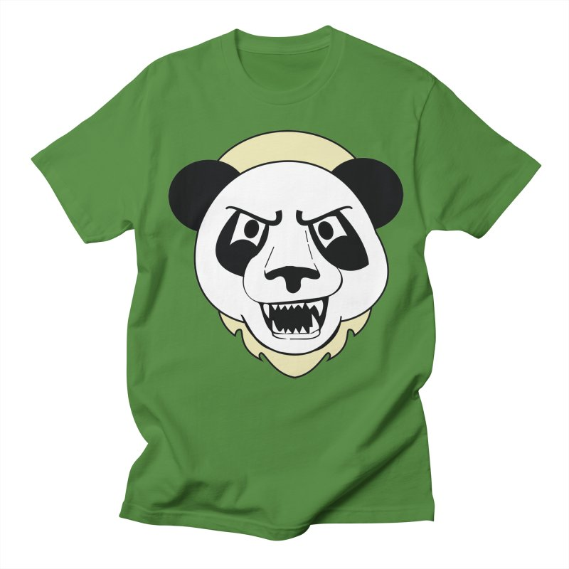 Panda Fury Men's T-Shirt by TenAnchors's Artist Shop