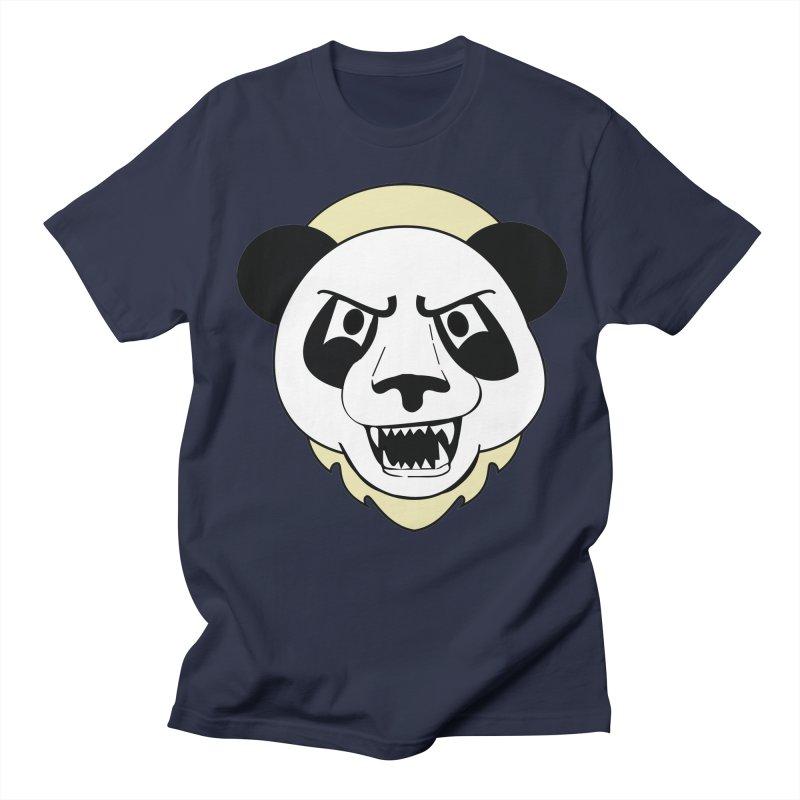 Panda Fury Women's Unisex T-Shirt by TenAnchors's Artist Shop