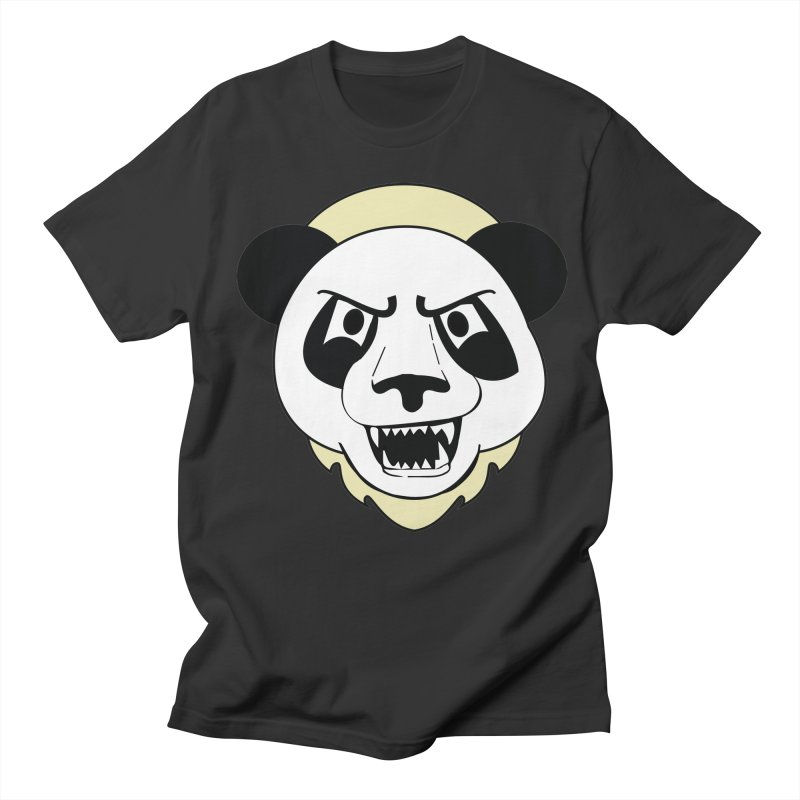 Panda Fury Women's Unisex T-Shirt by TenAnchors's Artist Shop
