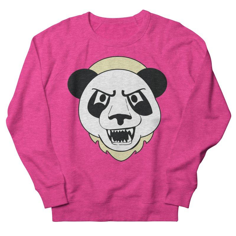 Panda Fury Women's Sweatshirt by TenAnchors's Artist Shop