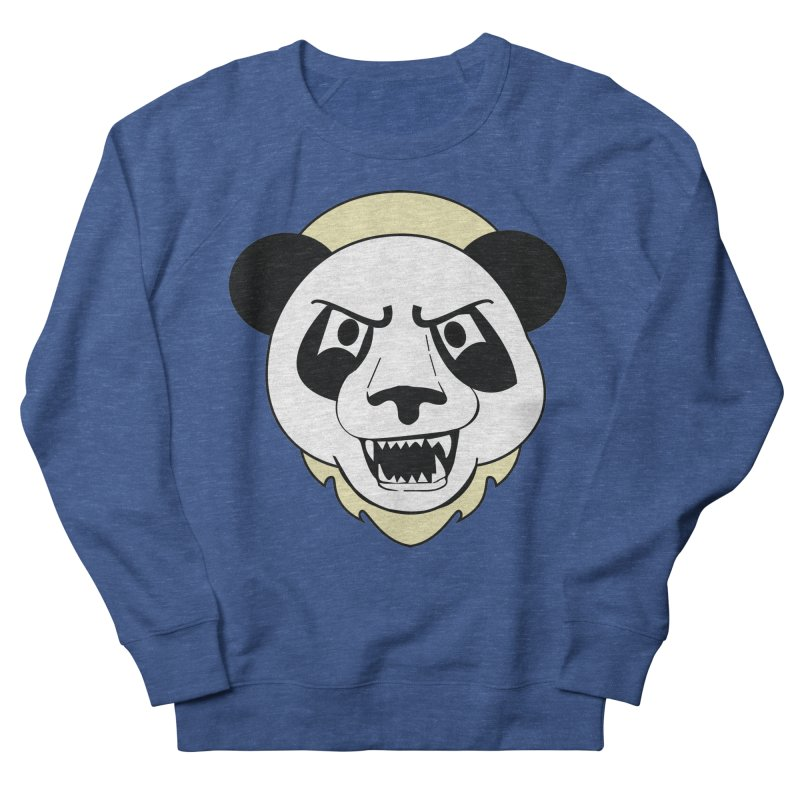 Panda Fury Men's Sweatshirt by TenAnchors's Artist Shop