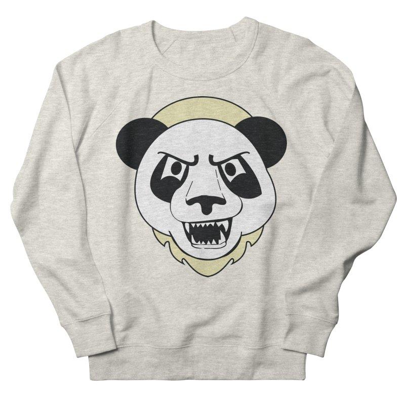 Panda Fury Men's Sweatshirt by TenAnchors's Artist Shop
