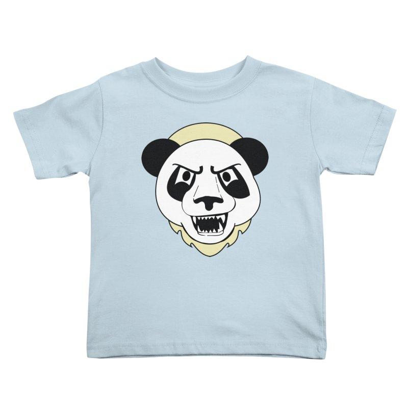 Panda Fury Kids Toddler T-Shirt by TenAnchors's Artist Shop