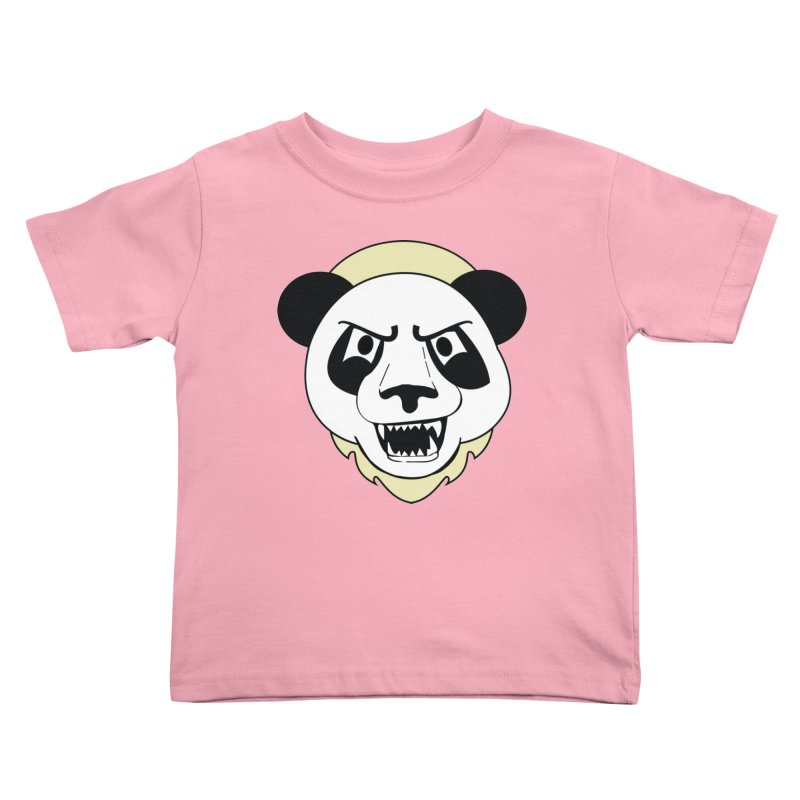 Panda Fury Kids Toddler T-Shirt by TenAnchors's Artist Shop