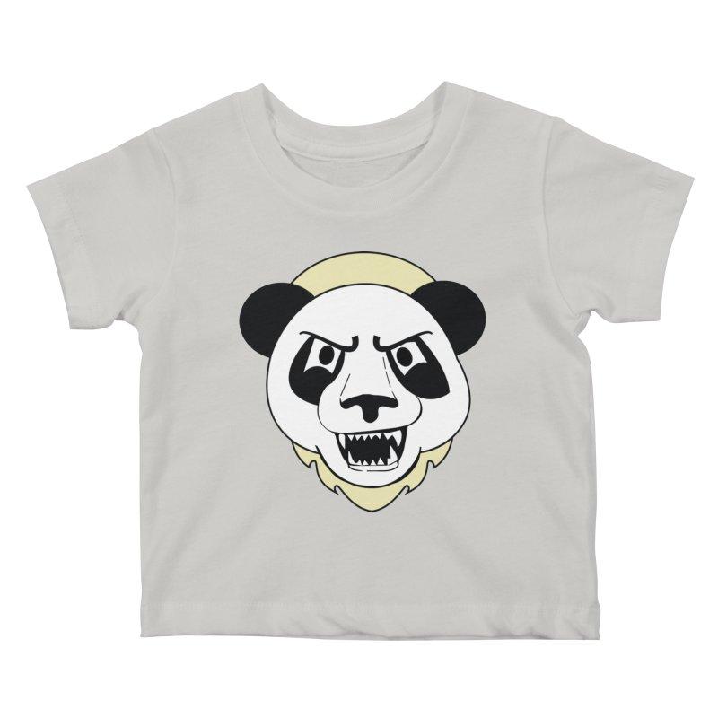 Panda Fury Kids Baby T-Shirt by TenAnchors's Artist Shop