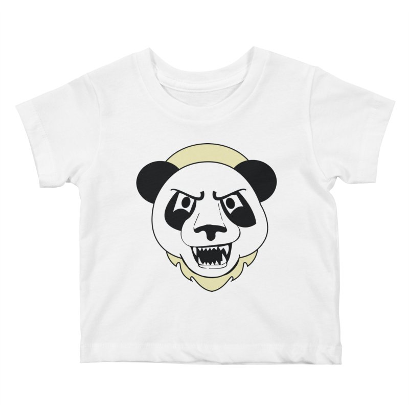 Panda Fury Kids Baby T-Shirt by TenAnchors's Artist Shop