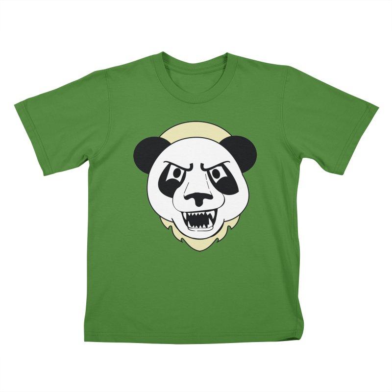 Panda Fury Kids T-shirt by TenAnchors's Artist Shop