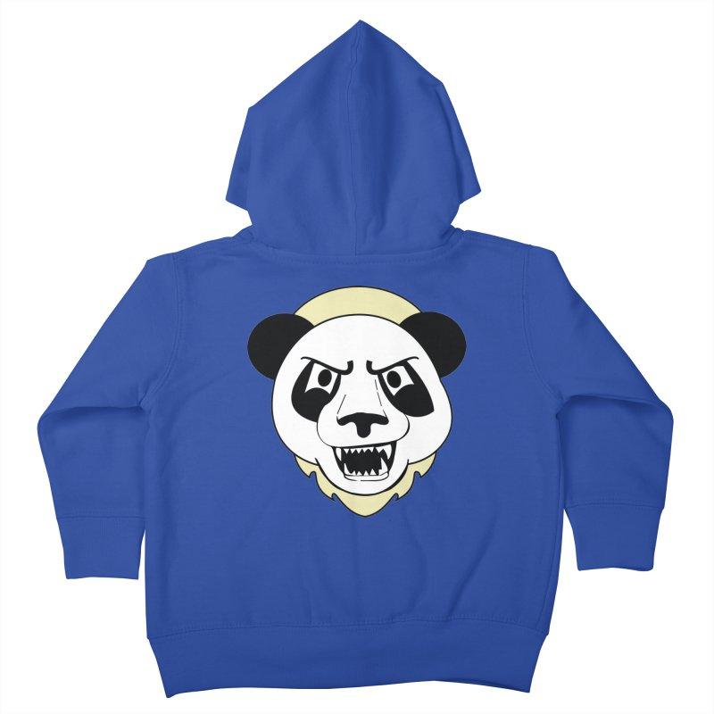 Panda Fury Kids Toddler Zip-Up Hoody by TenAnchors's Artist Shop