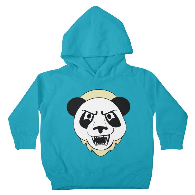 Panda Fury Kids Toddler Pullover Hoody by TenAnchors's Artist Shop