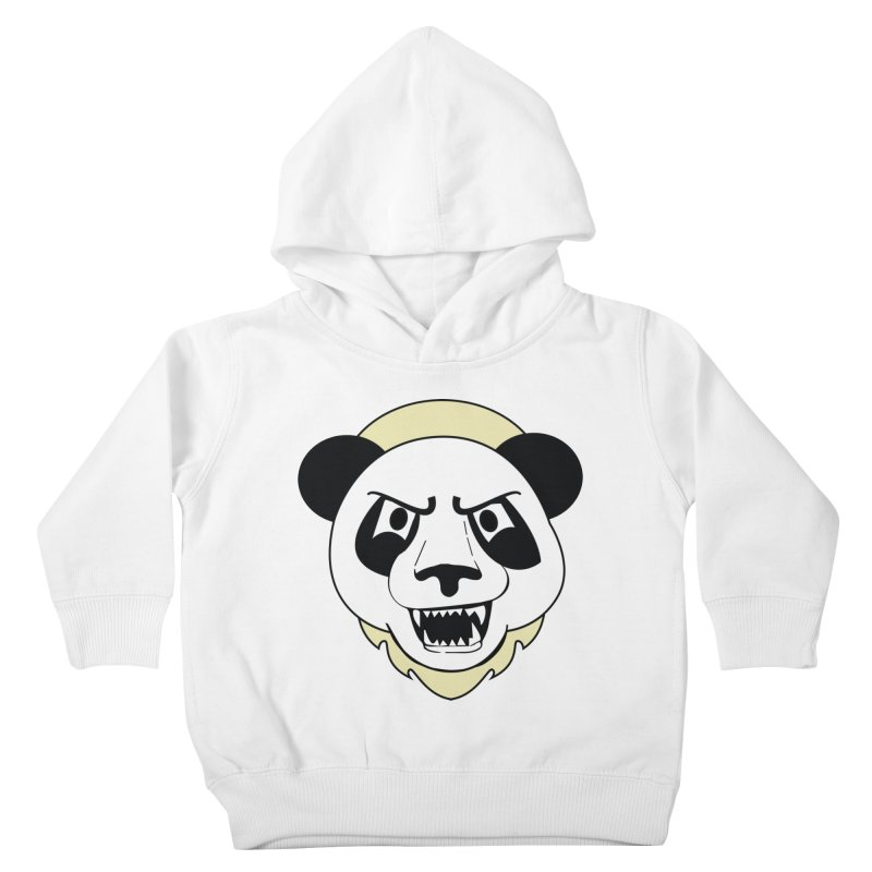 Panda Fury Kids Toddler Pullover Hoody by TenAnchors's Artist Shop