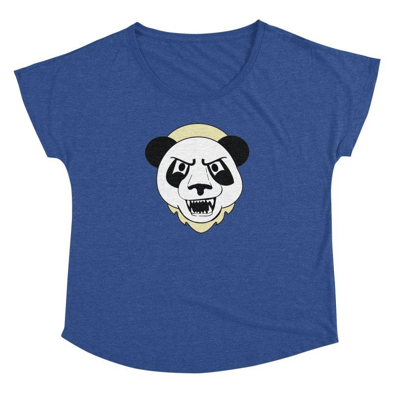 Panda Fury Women's Dolman by TenAnchors's Artist Shop