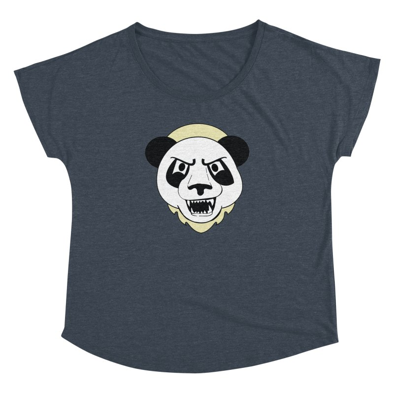 Panda Fury Women's Dolman by TenAnchors's Artist Shop