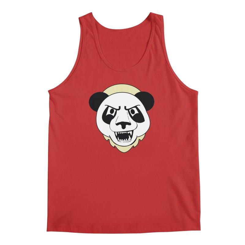 Panda Fury Men's Tank by TenAnchors's Artist Shop