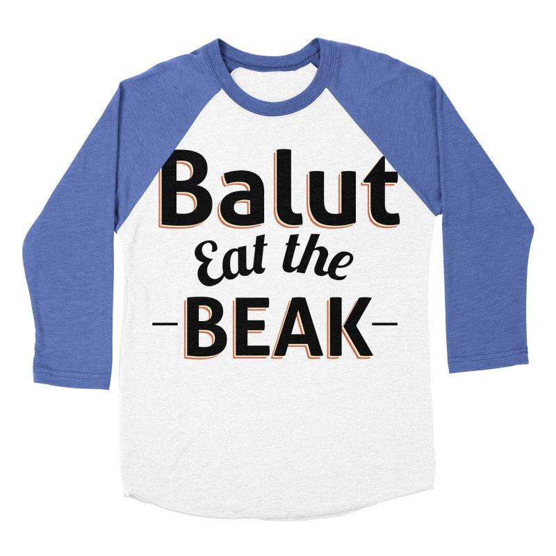 Eat the Beak Women's Baseball Triblend T-Shirt by TenAnchors's Artist Shop