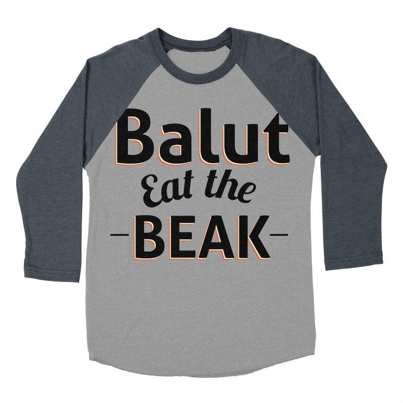 Eat the Beak Men's Baseball Triblend T-Shirt by TenAnchors's Artist Shop