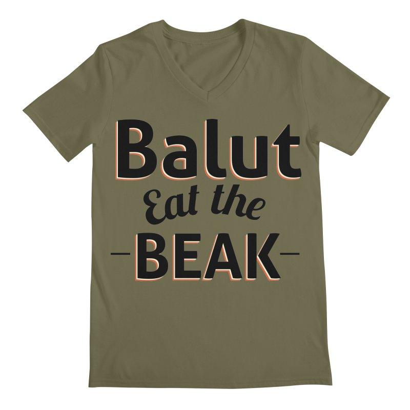 Eat the Beak Men's V-Neck by TenAnchors's Artist Shop