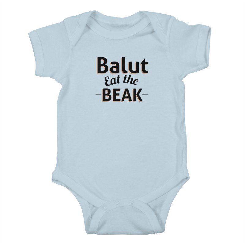 Eat the Beak Kids Baby Bodysuit by TenAnchors's Artist Shop
