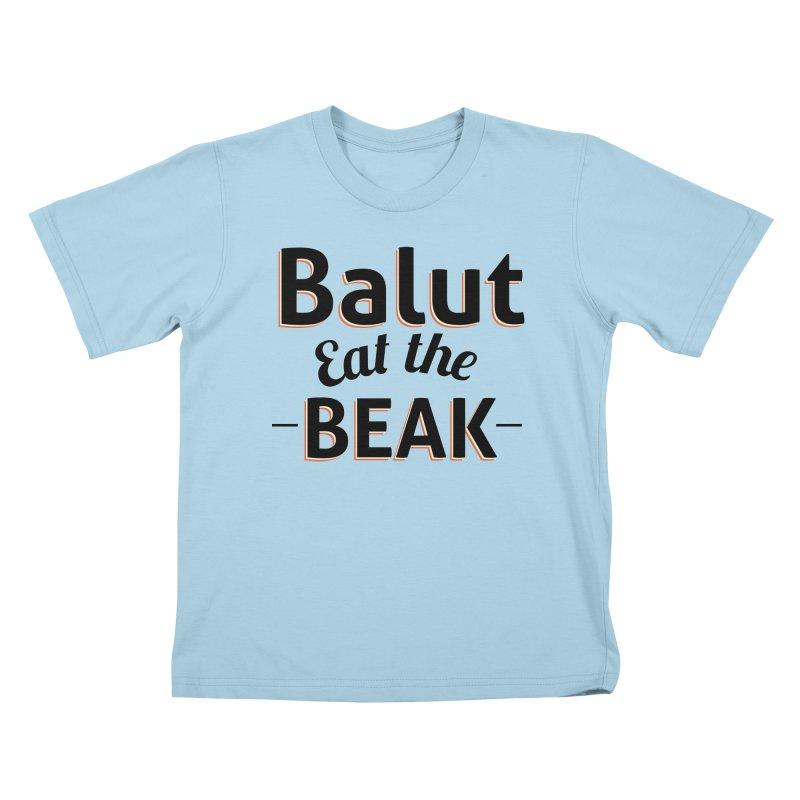 Eat the Beak Kids T-shirt by TenAnchors's Artist Shop