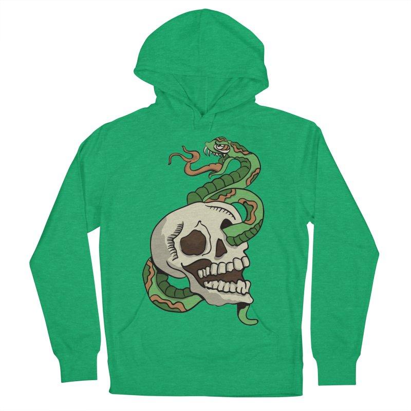 Snake 'n' Skull Women's Pullover Hoody by TenAnchors's Artist Shop