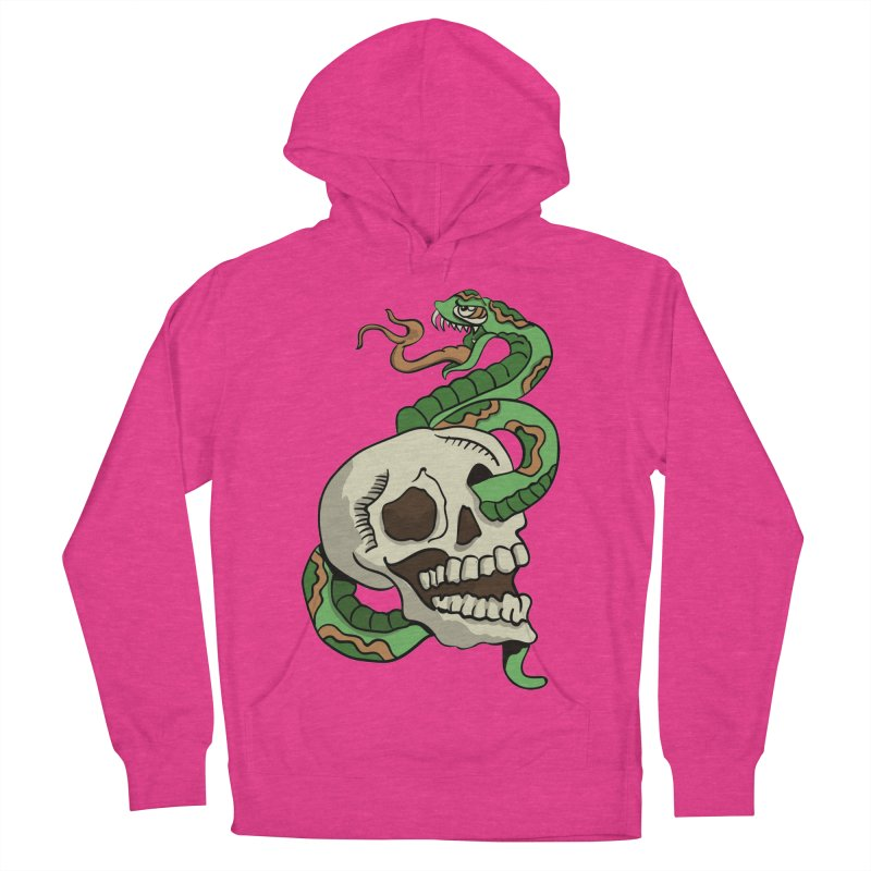 Snake 'n' Skull Men's Pullover Hoody by TenAnchors's Artist Shop