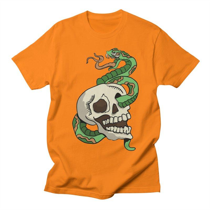 Snake 'n' Skull Women's Unisex T-Shirt by TenAnchors's Artist Shop
