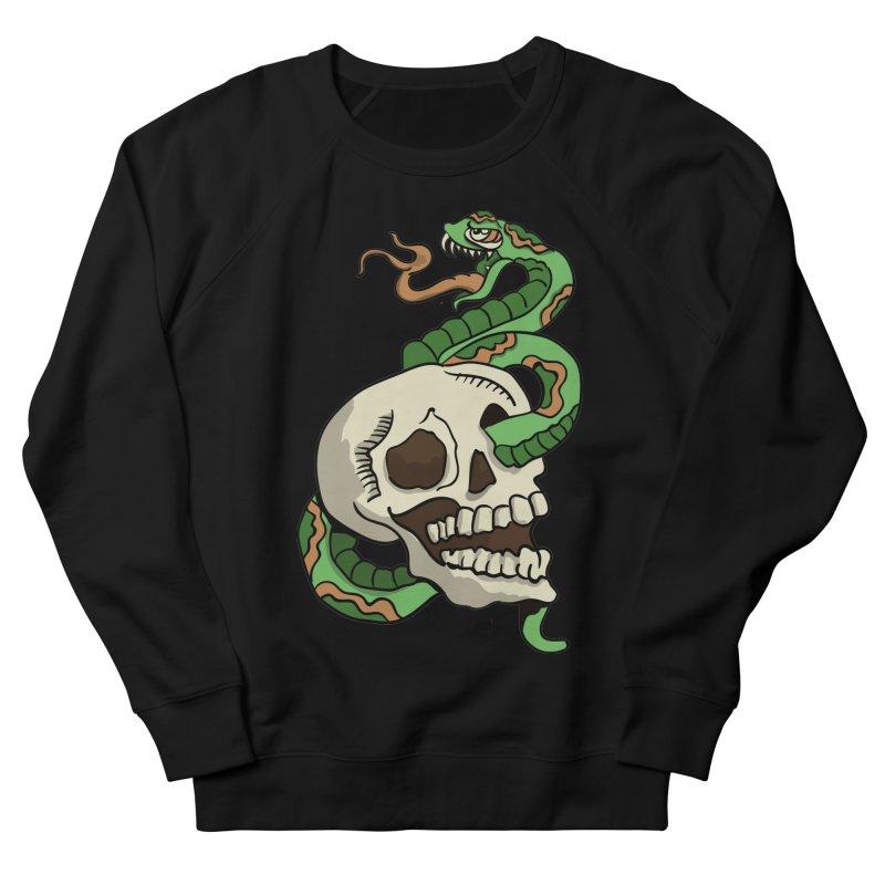 Snake 'n' Skull Women's Sweatshirt by TenAnchors's Artist Shop