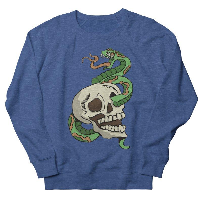 Snake 'n' Skull Men's Sweatshirt by TenAnchors's Artist Shop