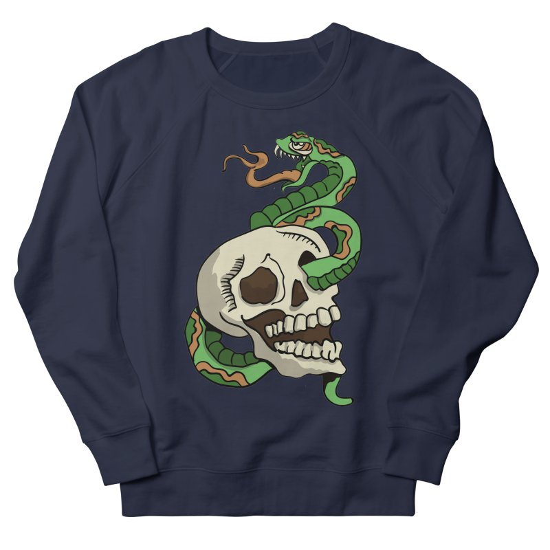 Snake 'n' Skull Men's Sweatshirt by TenAnchors's Artist Shop