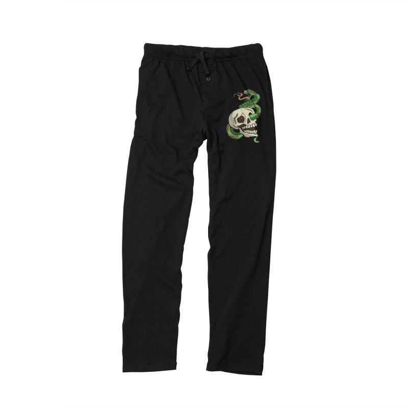 Snake 'n' Skull Men's Lounge Pants by TenAnchors's Artist Shop