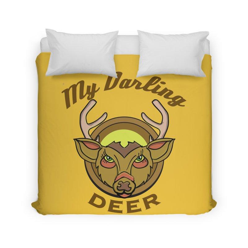 My Darling Deer Home Duvet by TenAnchors's Artist Shop
