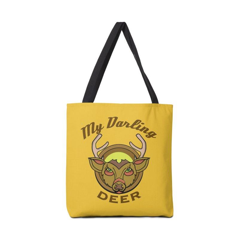 My Darling Deer Accessories Bag by TenAnchors's Artist Shop