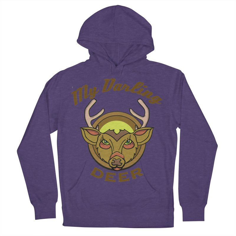 My Darling Deer Men's Pullover Hoody by TenAnchors's Artist Shop